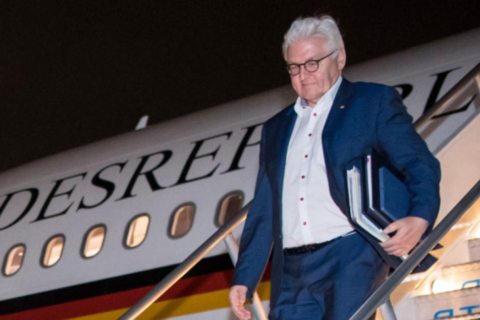 Bundespräsident Steinmeier in USA gelandet, aber Donald Trump trifft er nicht