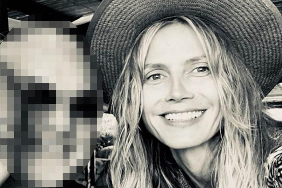 Heidi Klum strahlt neben einem Mann, aber es ist nicht Tom Kaulitz!