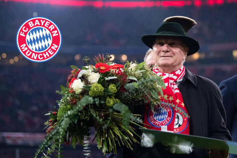FC Bayern: Hoeneß verabschiedet sich mit einem Knall!