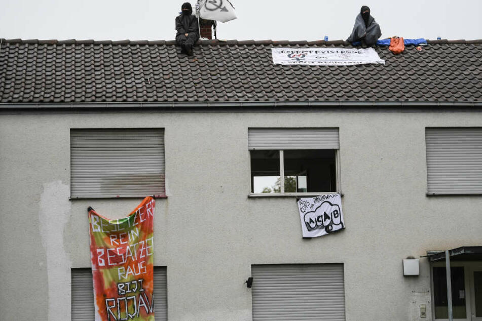 Am vergangenen Montag setzten Aktivisten mit einer Besetzung bereits ein Signal gegen zu hohe Wohnraumpreise und Leerstand von Gebäuden.