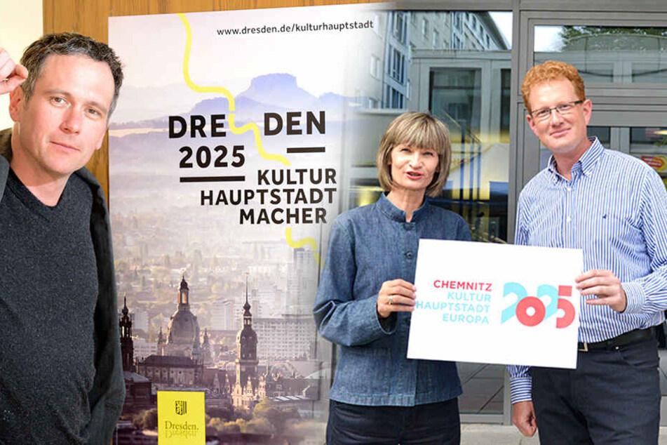 Dresden oder Chemnitz: Wer wird 2025 zur Hauptstadt?