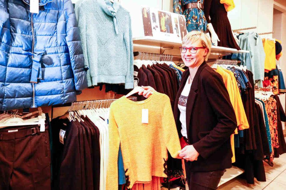 In der Orsay-Filiale von Janett Gläser (43) bekommen Kunden am heutigen Freitag auf fast alles 20 Prozent Rabatt.