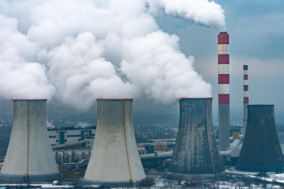 Ein Kohlekraftwerk bei Kattowitz: In der südpolnischen Stadt fand der UN-Klimagipfel 2018 statt.