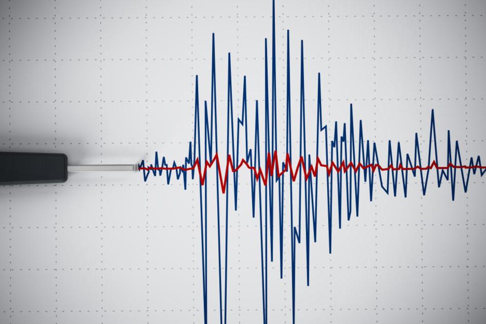 Vor der Inselgruppe ereignete sich ein schweres Beben.