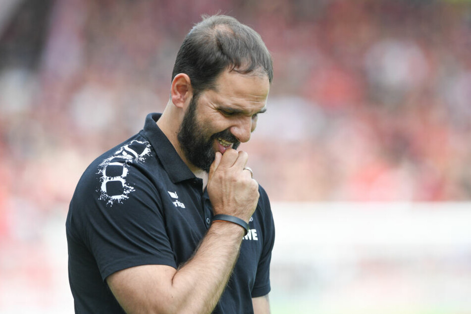 Auch Stefan Ruthenbeck, Trainer beim 1. FC Köln, hatte kein Mittel gegen die Freiburger.