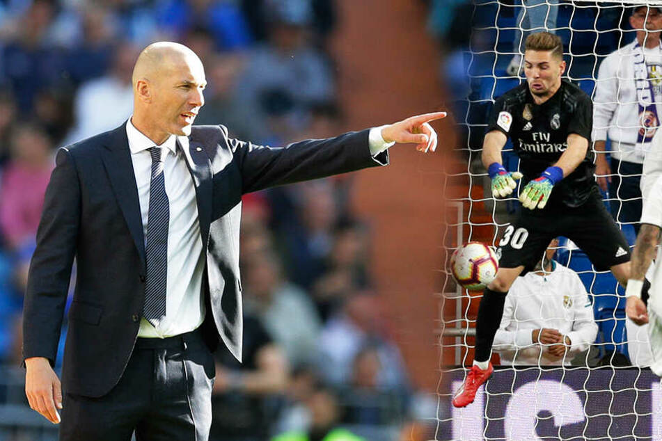 Zinedine setzt auf Luca: Deshalb baut Zidane bei Real auf seinen Sohn!