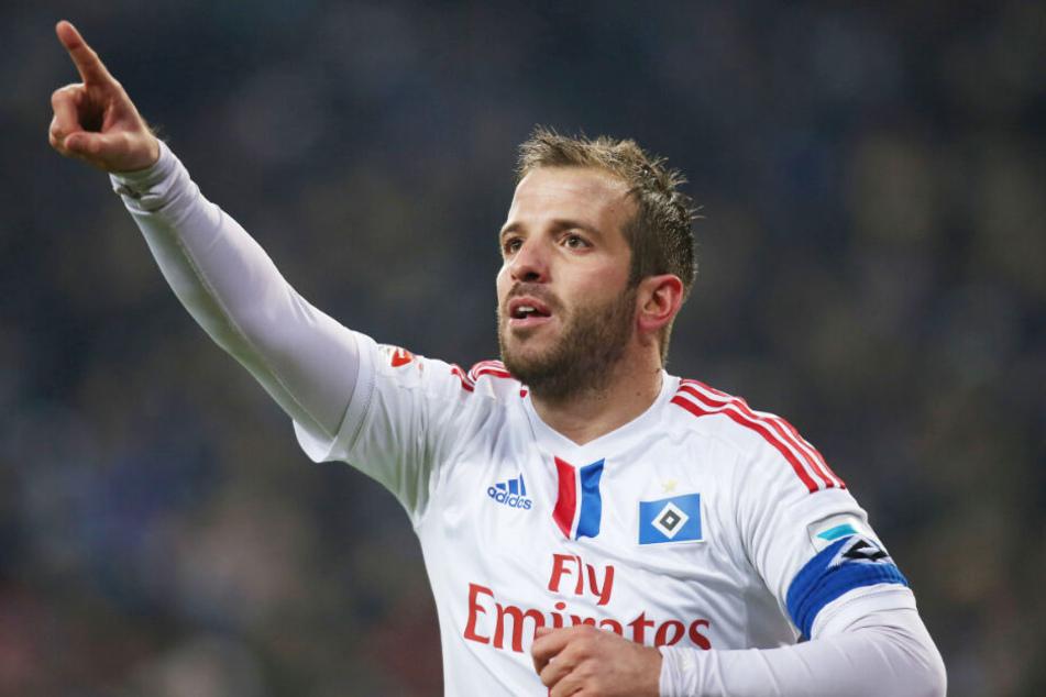 Rafael van der Vaart ist dem HSV noch immer treu verbunden.