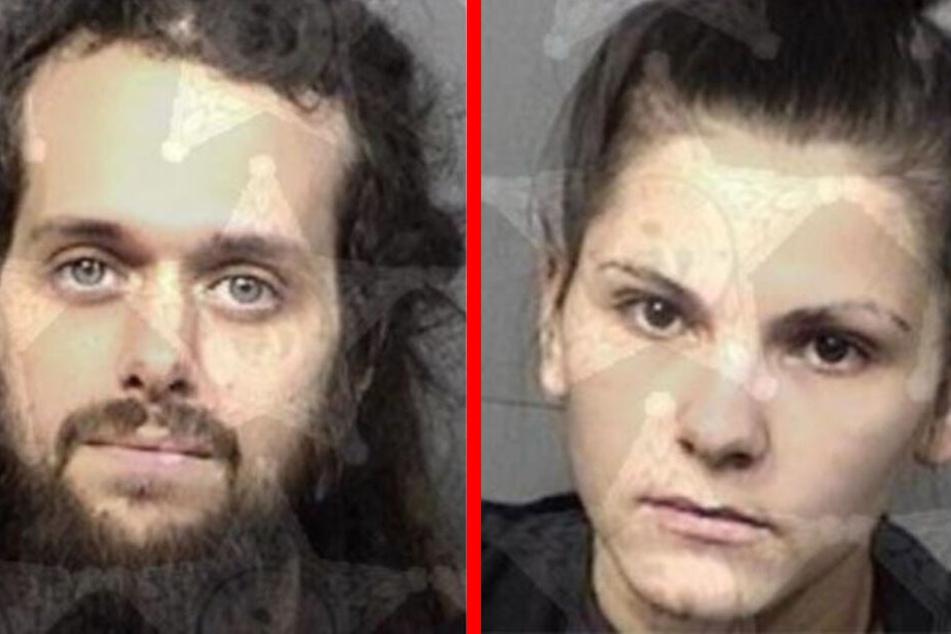 Robert Buskey (31) und Julia French (20) stehen wegen Kindes-Vernachlässigung vor Gericht.