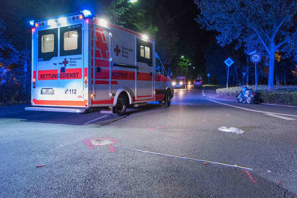 Die Mopedfahrerin kam mit schwersten Verletzungen in das Klinikum Weimar.