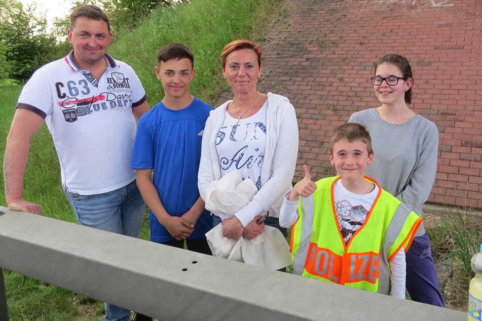 Diese mutige Familie aus Eichenau in Bayern hat mindestens einem Menschen das Leben gerettet.