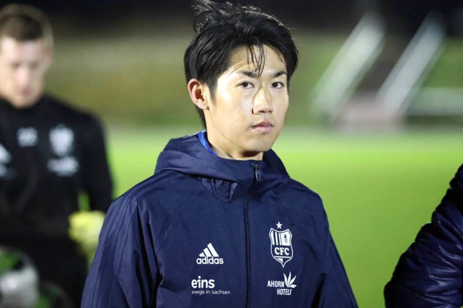 Naoyuki Yamazaki stand nicht in der Startelf, kam aber zum Einsatz.