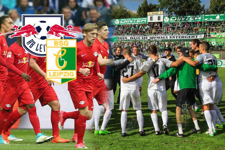 Zeitgleich! Jetzt steht fest, wann RB und Chemie Leipzig im DFB-Pokal spielen