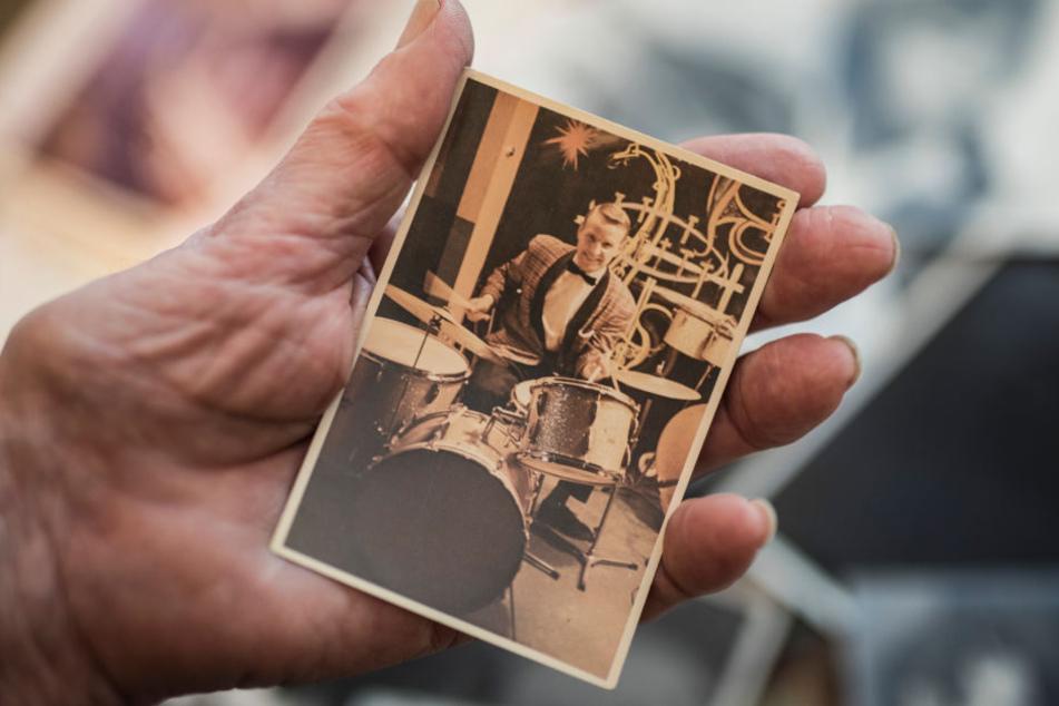 Alter Schatz: Das Bild zeigt Pflanz als jungen Musikus.