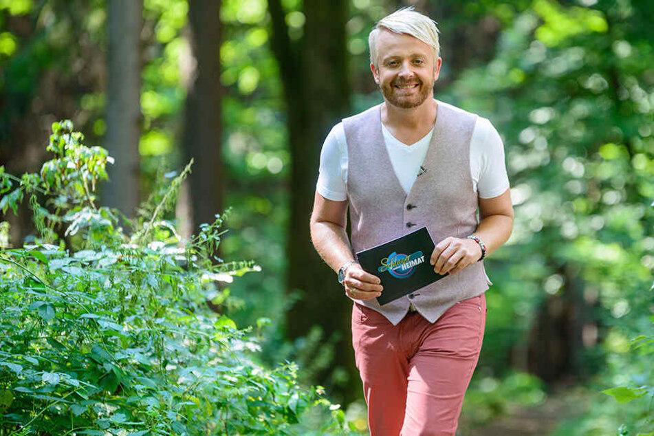 """Schlagerstar Ross Antony (44) stellt in seiner neuen MDR-Show """"Schlager meiner Heimat"""" die Oberlausitz vor."""
