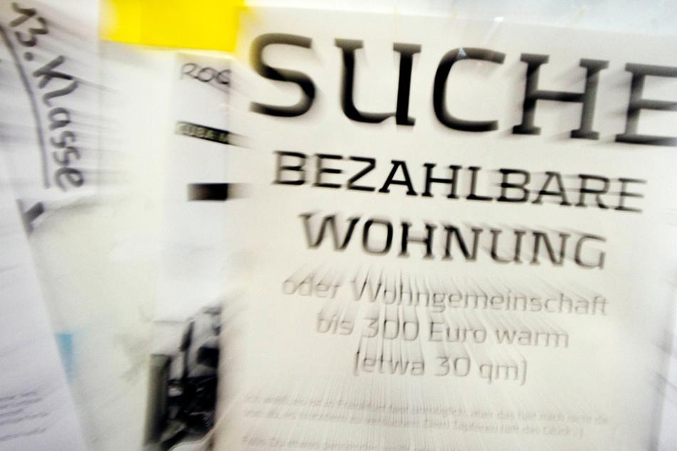 Der Mangel an günstigem Wohnraum in Frankfurt und Hessen ist schon lange ein Problem (Symbolbild).