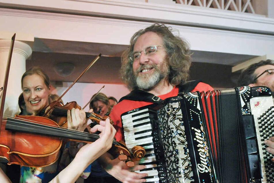 Musiker Alan Bern hat in diesem Jahr den Weimar-Preis gewonnen.