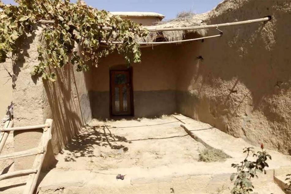 Hier soll sich Mullah Omar jahrelang versteckt haben, die Hütte liegt nur wenige Klimoter entfernt von einem US-Stützpunkt.