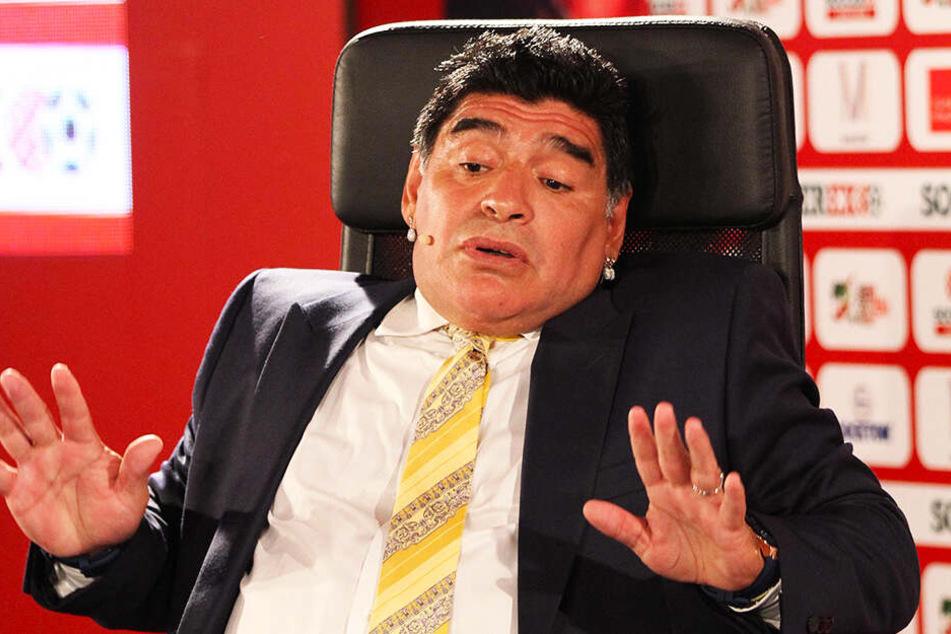 Diego Armando Maradona hatte schon oft mit gesundheitlichen Problemen zu kämpfen.