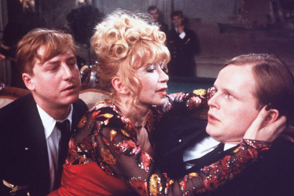 """1981 spielt Martin Semmelrogge (l.) mit Rita Cadillac und Herbert Grönemeyer im Kultfilm """"Das Boot"""" mit - es ist sein Durchbruch."""