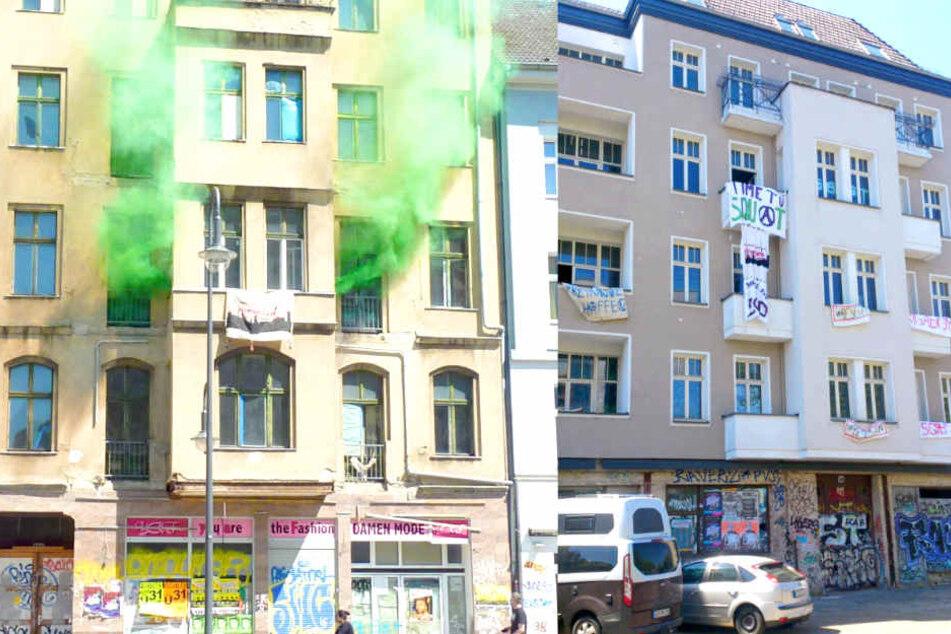 Aktivisten besetzen mehrere Häuser in ganz Berlin