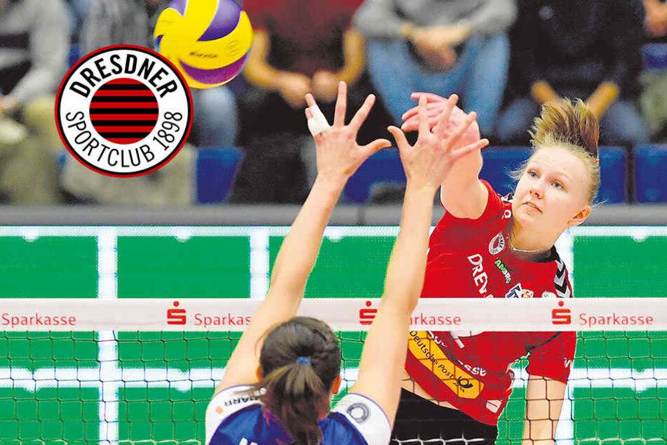 DSC vs. Schwerin: Duell der Superlative in knackevoller Halle!