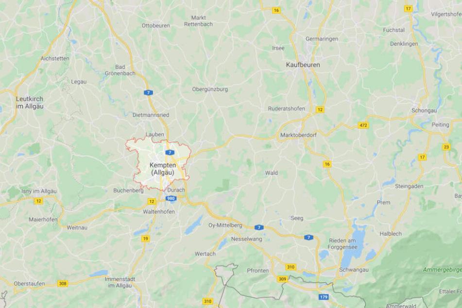 Die brutale Attacke ereignete sich in Kempten im Allgäu.