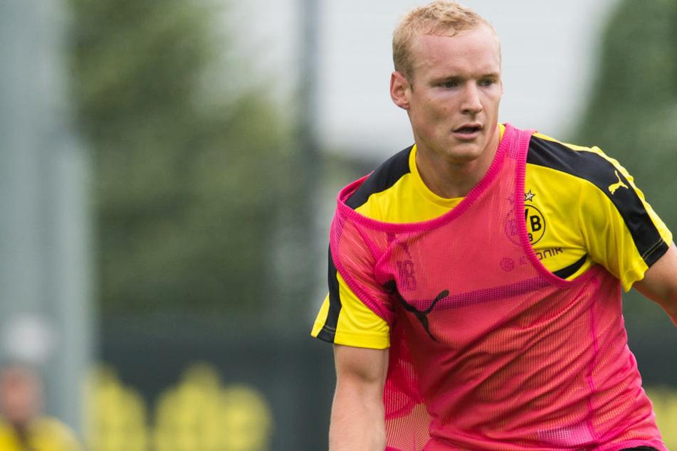 Gelb-Schwarz ist für Sebastian Rode (28) Vergangenheit: Ab sofort läuft er wieder für Frankfurt auf.