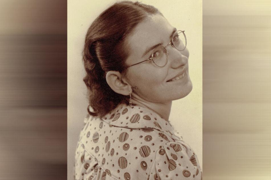 Die Dresdnerin als junge Dame. Ihr Lächeln hat sie sich bis heute bewahrt.
