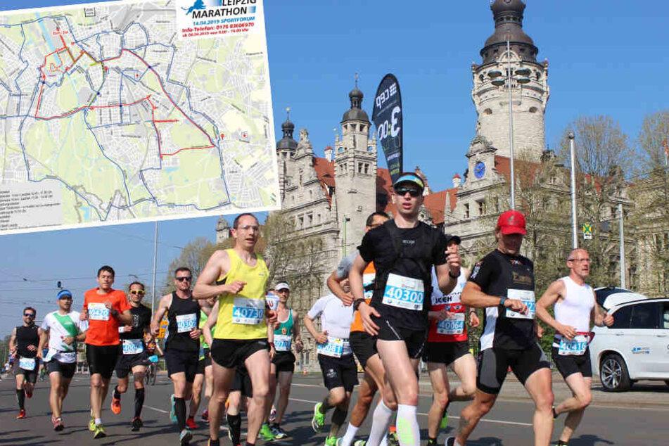 Leipzig-Marathon sorgt heute für Verkehrschaos
