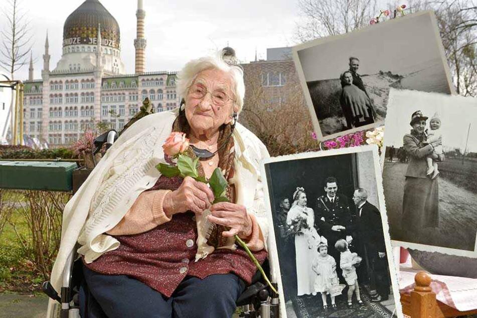 107 Jahre! Lisbeth Exner wurde geboren, als in Sachsen noch ein König herrschte