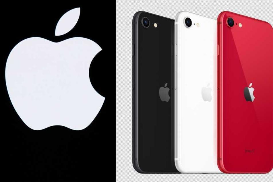 Das neue iPhone SE2 gibt es in drei verschiedenen Farbvariationen.