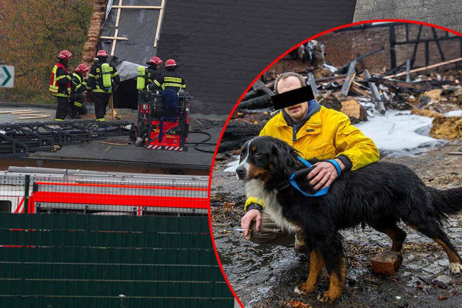 Nach Brandserie auf Vierseithof: Hauseigentümer unter Verdacht!