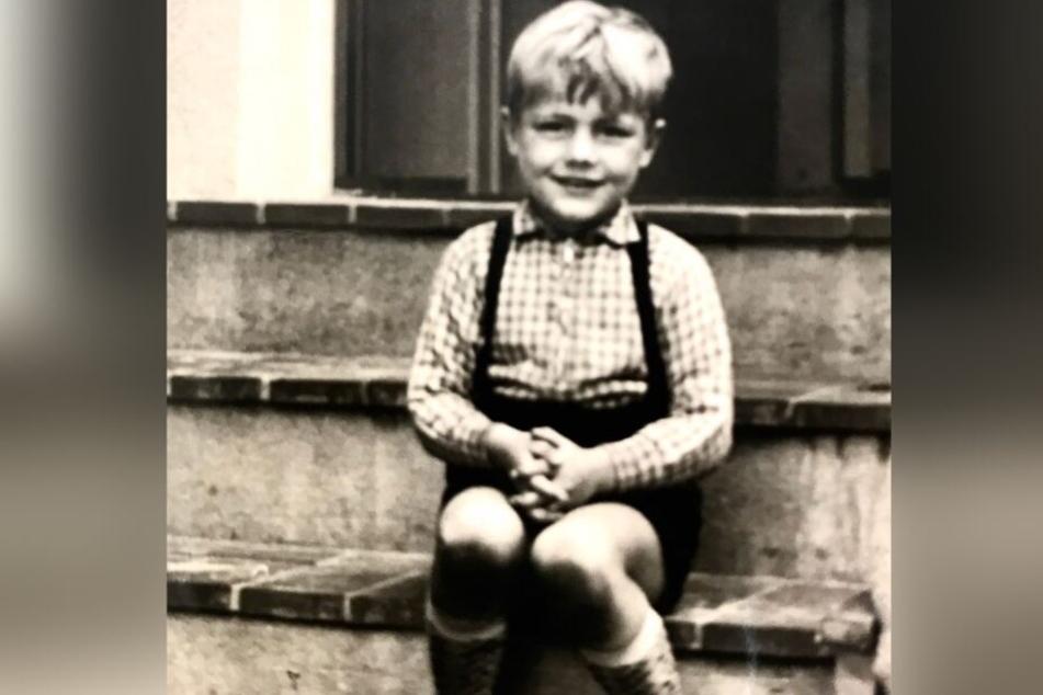 Zuckersüß: Dieter Bohlen mit fünf Jahren.