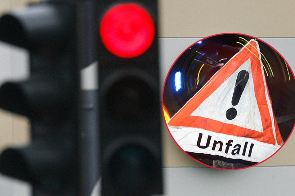 Laut den beiden Unfall-Beteiligten war keine der Ampeln auf Rotlicht geschaltet. (Symbolbild)