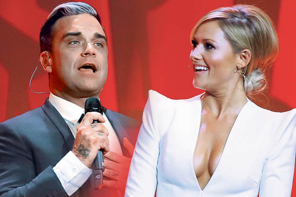 Robbie Williams macht's mit Helene Fischer