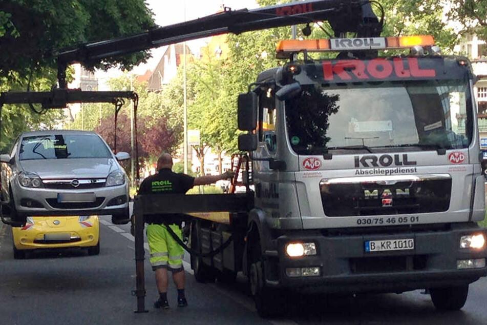 """""""Mission: Busspur"""" war für die Berliner Polizei ein voller Erfolg! (Symbolbild)"""
