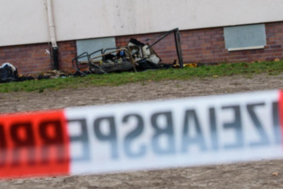 Brandstiftung! Feuer in Unterkunft für Asylbewerber wurde gelegt