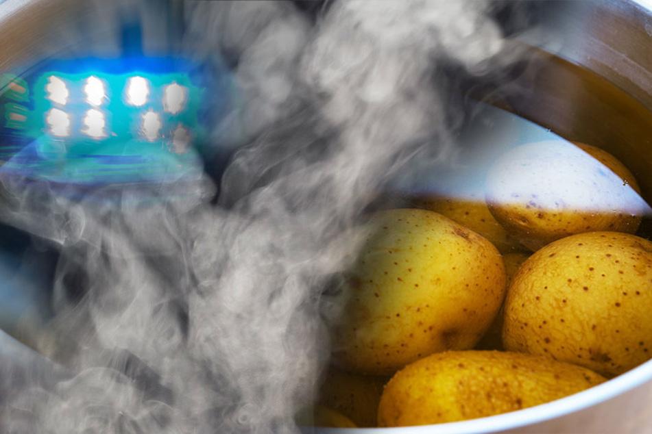 Pellkartoffeln lösen Polizei-Einsatz aus