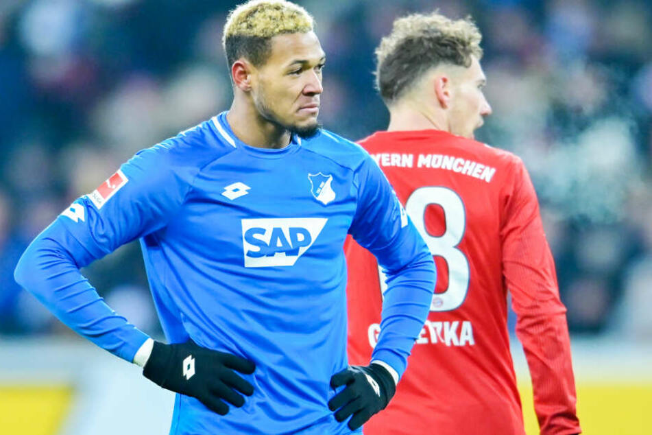 Bayerns Goretzka kehrt dem Kraichgau-Brasilianer Joelinton den Rücken zu: Am 18. Spieltag verlor die TSG gegen die Münchner mit 1:3.