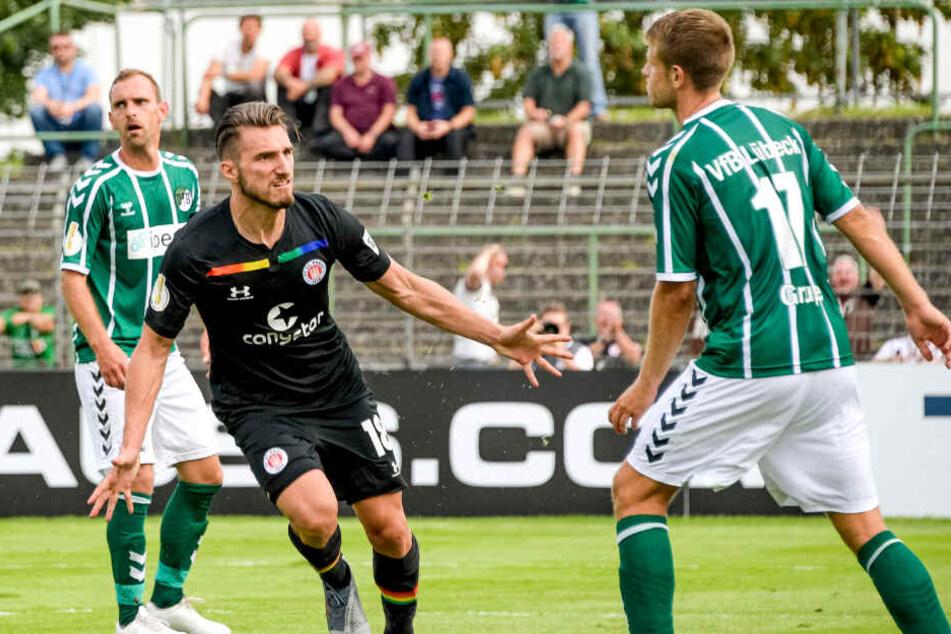 Auf ihn war Verlass! Stürmer Dimitrios Diamantakos erzielte in drei Pflichtspielen zwei Tore.