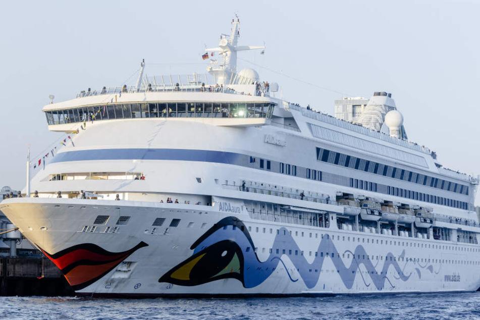 Deutsche Passagiere unter Coronavirus-Verdacht: Aida-Schiff sitzt in Norwegen fest