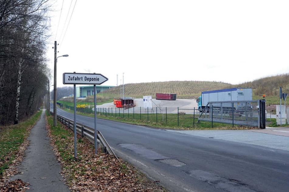 Die Stadt plant ein neues Kraftwerk für Restmüllverbrennung am Weißen Weg in Hilbersdorf.