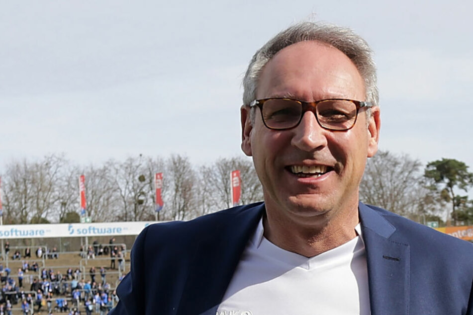 Glücklich über den geschafften Last-Minute-Klassenerhalt: Lilien-Präsident Rüdiger Fritsch. (Symbolbild)