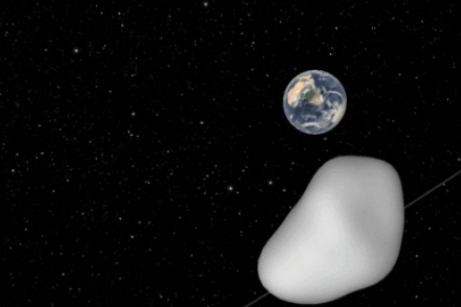 Am 12. Oktober wird der Asteroid die Erde in knapper Entfernung passieren.