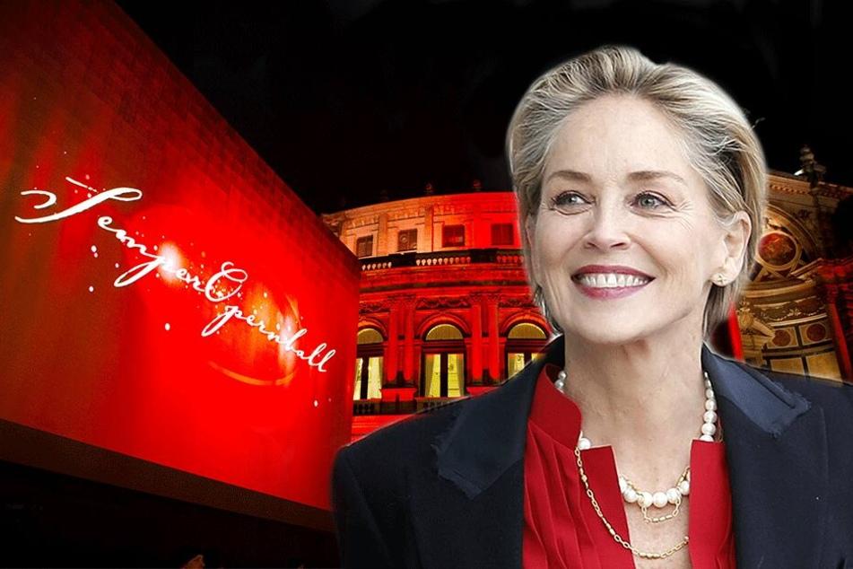 """""""Basic Instinct""""-Star Sharon Stone: Wird sie der Knaller vom SemperOpernball?"""