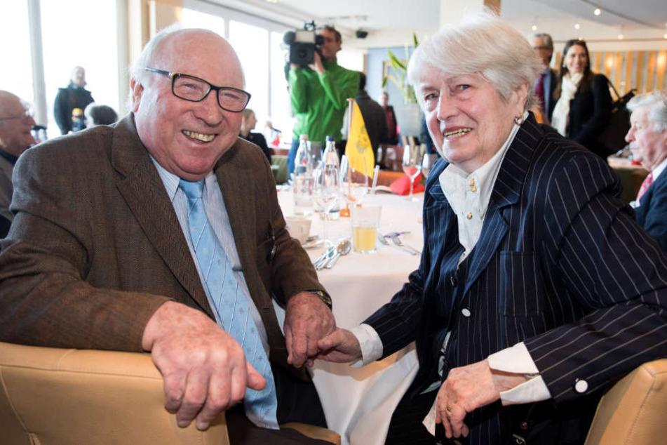 Uwe Seeler lebt mit seiner Frau Ilka seit Jahren in Norderstedt.