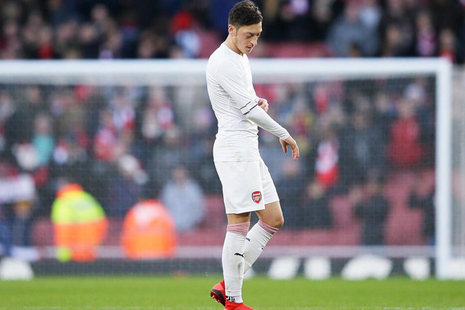 Verlässt Mesut Özil den FC Arsenal London noch in der Winterpause?