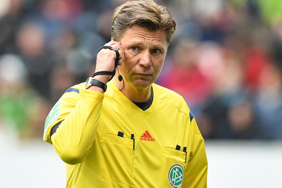 Ex-Schieri Thorsten Kinhöfer. 2015 leitete er beim Spiel Bayern München gegen Mainz 05 seine letzte Partie als Bundesliga-Schiedsrichter.