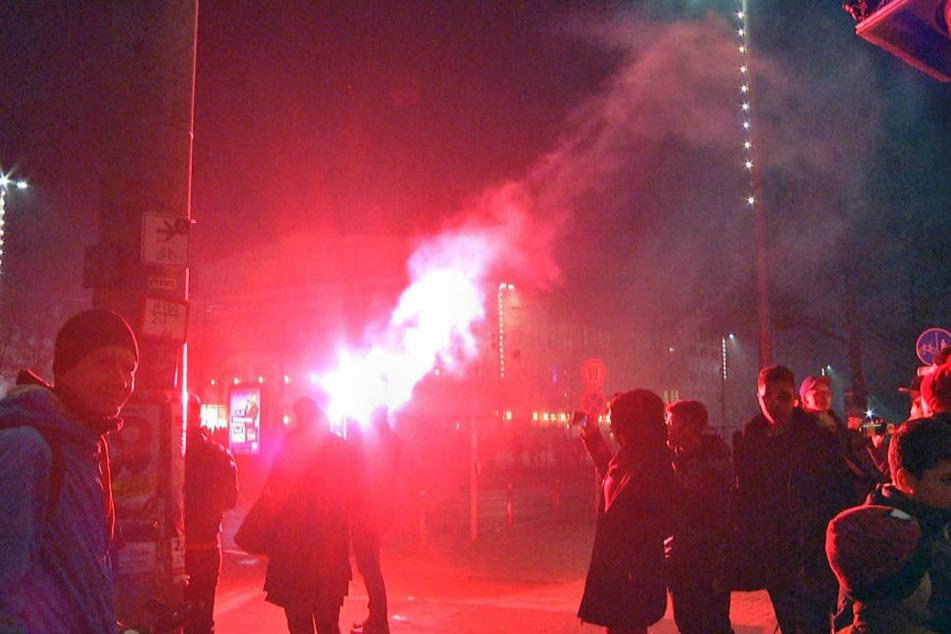 Barrikadenbau und Anschlag auf BGH: Das war in der Leipziger Silvesternacht los