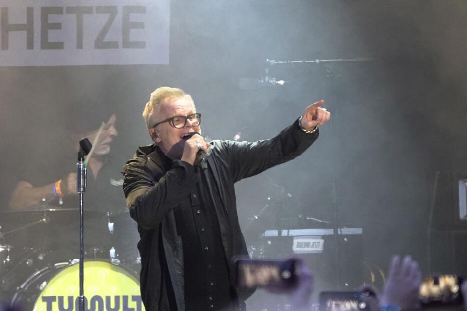 Herbert Grönemeyer rockte am Donnerstagabend die #wirbleibenmehr-Bühne.